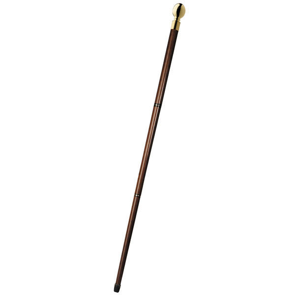 Vintage Captain's Walking Stick with Hidden Compass Image