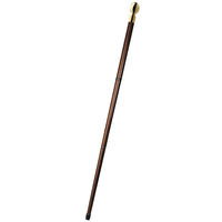 Vintage Captain's Walking Stick - Hidden Compass - Made of Solid Wood with Brass Knob - Gift Bag Included - Authentic Models WS002