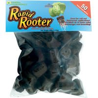 Rapid Rooter Replacement Plugs - For Use with Rapid Rooter Trays - Bag of 50 - General Hydroponics GH3253