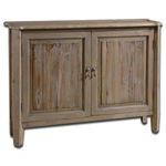 Uttermost 24244 - Fir Wood Console Cabinet Image