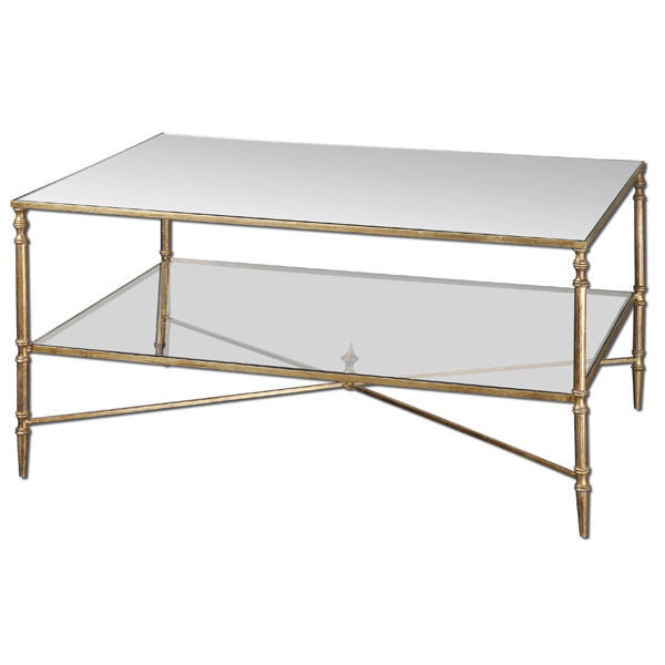 Uttermost 24276 - Metal and Glass Coffee Table Image