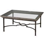Uttermost 24291 - Glass and Fir Wood Coffee Table Image