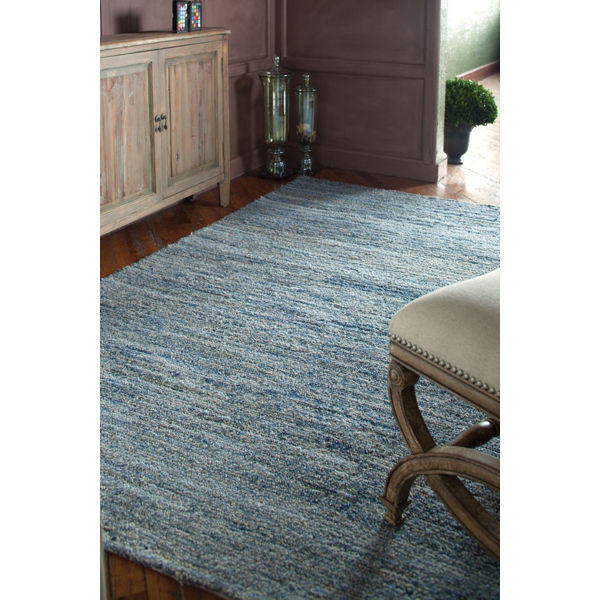 Uttermost 73013-9 - Genoa Rescued Denim and Undyed Wool Rug - 9 ft. x 12 ft. Image