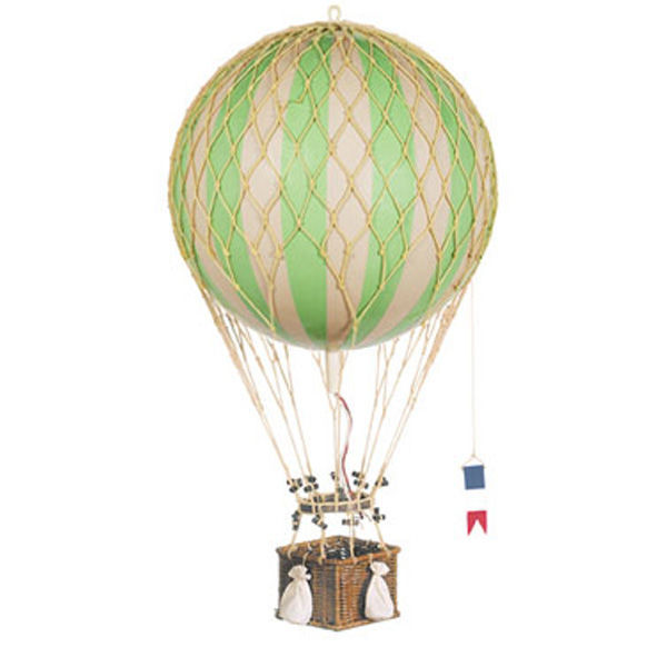 True Green Royal Aero - Hot Air Balloon Model Image