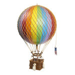 Rainbow Jules Verne - Hot Air Balloon Model Image