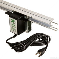Light Rail 9 RPM Complete Kit - Smooth Travel - Includes Motor and 6 foot Rail - Gualala Robotics LR35ID9KIT