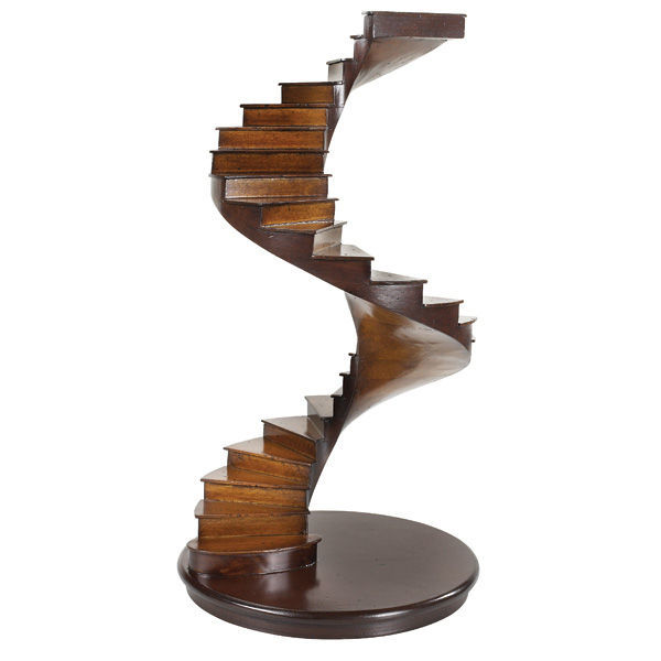 Spiral Stairs - Architectural Staircase Model Image