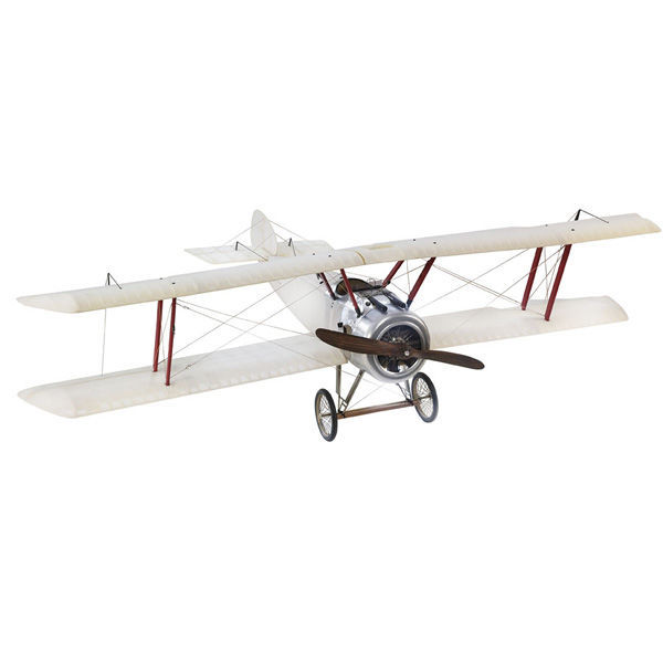 Large Transparent Sopwith Camel - Authentic Airplane Model Image