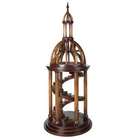 Bell Tower Antica - Dome and Staircase Architectural Model - 34 in. H x 14 in. Dia. - Features Solid Cherry and Birch Wood with Honey Finish - Hand Crafted - Authentic Models AR011