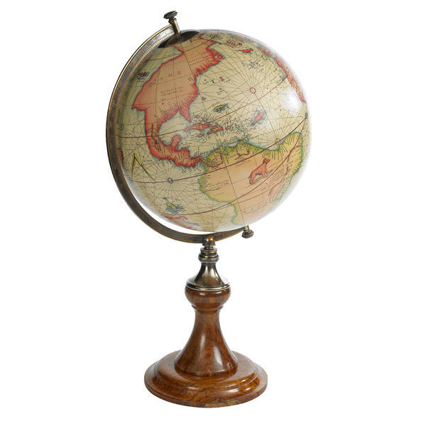 Mercator 1541 - Handcrafted French Globe Image