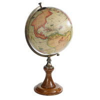 Mercator 1541 - Handcrafted French Globe - Features Classic Wooden Stand with Bronze Accents - Authentic Models GL002D