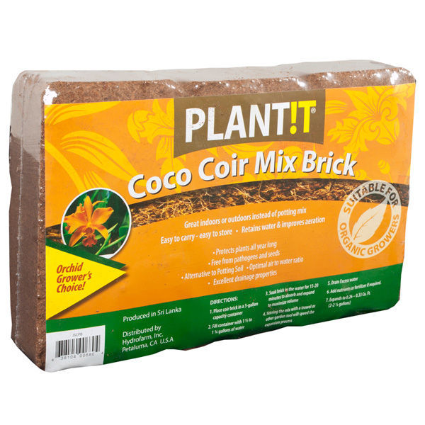 Coco Coir Mix Brick Image