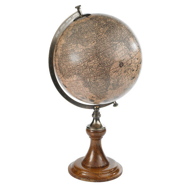 Hondius 1627 - Handcrafted French Globe Image