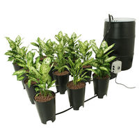 Grow Flow Controller and Bucket Kit - 7 Gallon - Includes Bucket Modules, High-flow Pumps, 55 Gallon Distribution Reservoir, and Controller Module - Active Aqua GFO7KT