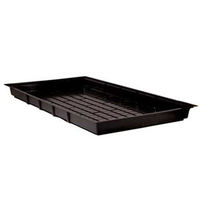 Black Flood Table Tray - 3 ft. x 6 ft. - ABS Plastic - Multi-drain Positions - UV Resistant - Active Aqua HGFT36