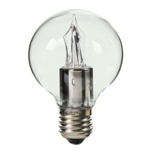 LED - 3.5 Watt - G16 Clear Globe - 2 in. Diameter Image