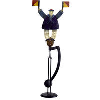 Signal Sailor Sky Hook - Metal Balance Toy - Features Hand-Painted Signal Sailor Figure on Recycled Metal Stand - Authentic Models TM034