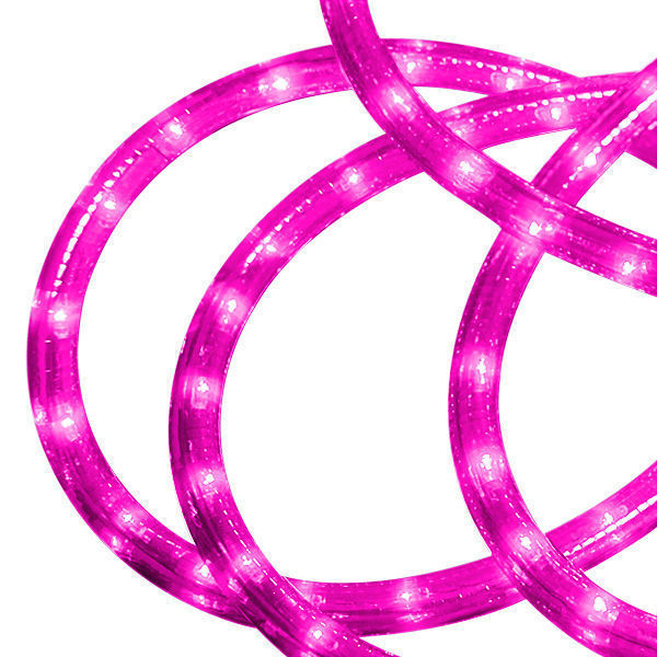24 ft. - Rope Light - Pink - 120 Volt Image