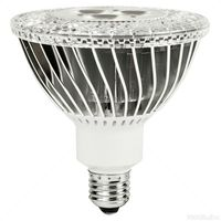 LED - 14 Watt - PAR38 - 85W Equal - 3796 Candlepower - 25 Deg. Narrow Flood - CRI 91 - 3000K Halogen White