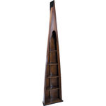 Man of Eight Bookcase - Wooden Boat Replica Image