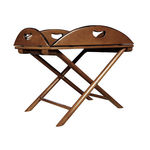 British Butler Table - Small Folding Table Image