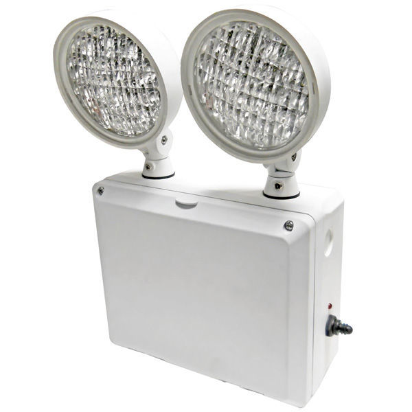 Heavy Duty Emergency Light - Wet Location - LED Lamp Heads Image