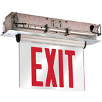 LED Exit Sign - Edge-Lit - Double Face - Self Testing Image