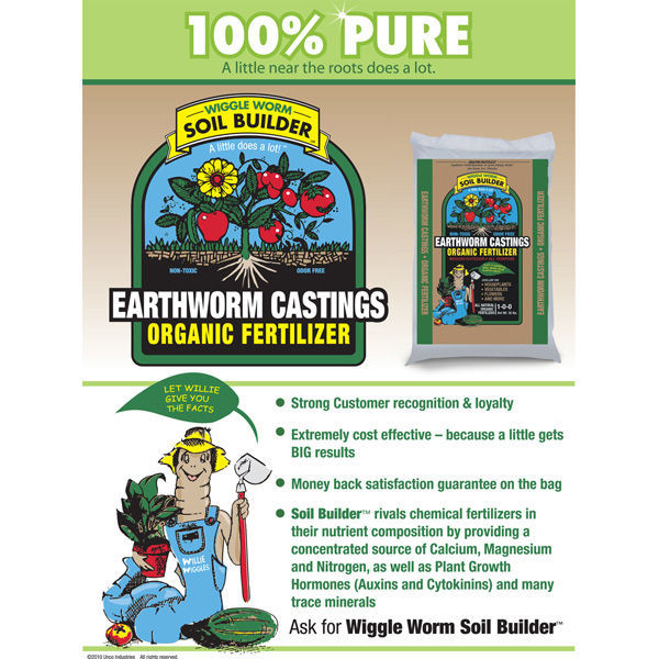 Wiggle Worm Soil Builder - 30 lb. Bag Image
