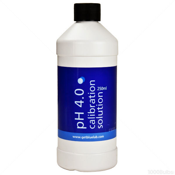 Bluelab HD4CAL250 - pH 4.0 - 250ml - Calibration Solution Image