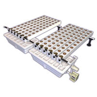 AeroFlo Extension - Hydroponic System - 60 to 120 Sites - 40-Gallon Reservoir - 3 in. Grow Cups, and Manifold - General Hydroponics GH8003