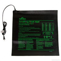 20 in. x 20 in. - 45 Watt - Seedling Heat Mat - Waterproof - 6 ft. Power Cord Included - 120 Volt - HydroFarm MT10008