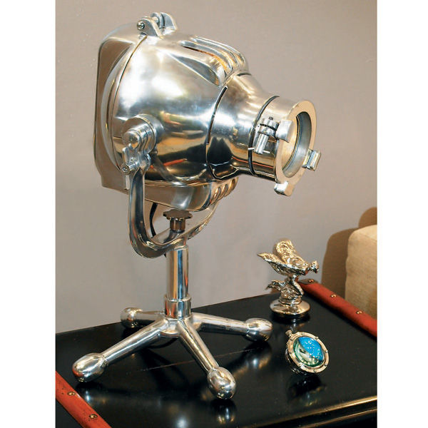 Authentic Reproduced Playhouse Cinema Light - Table Lamp Image