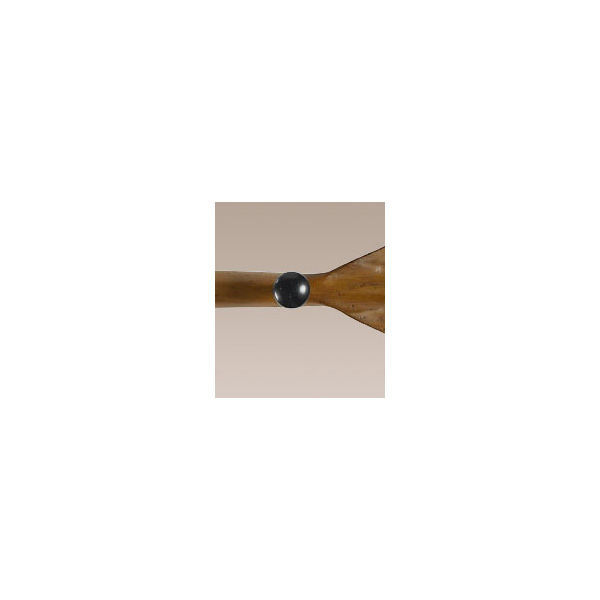 Black Oar Coat Rack Image
