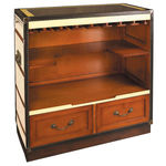 Casablanca Lounge Bar in Ivory - Bar Cabinet Image