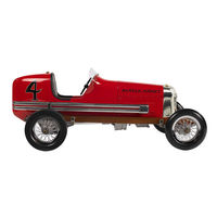 19 in. Length - 1930s Bantam Midget - Red - Authentic Models PC012
