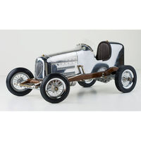 19 in. Length - 1930s Bantam Midget - Silver - Authentic Models PC011