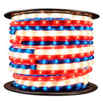 3/8 in. - Red, White, and Blue - Rope Light Image