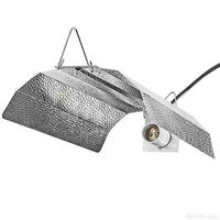 Econo Wing Reflector - MH or HPS - Mogul Socket - Operates up to 1000 Watt Lamp - Ballast and Lamp Sold Separately - Sun System 904465