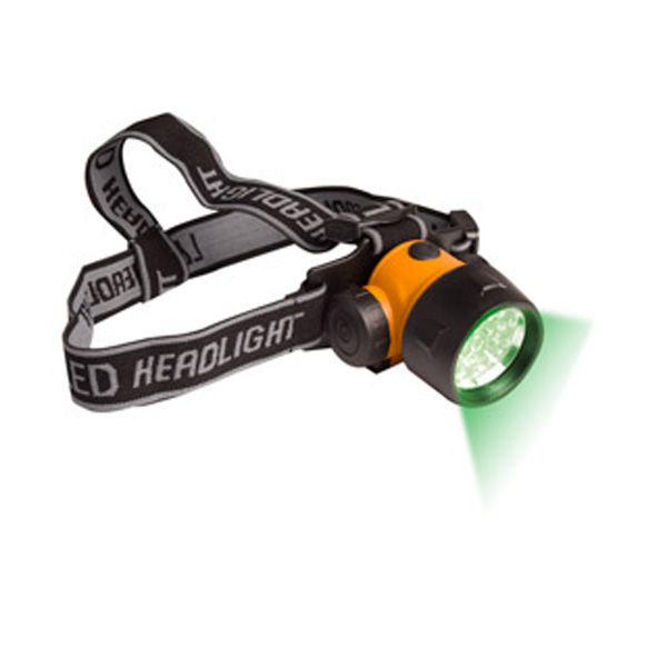 Green LED Head Light Image