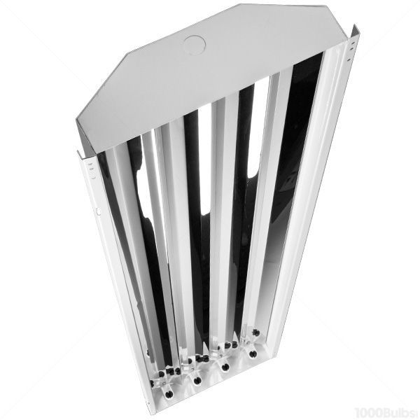 T8 High Bay Fluorescent Light Fixture: Sun And Stars Lighting HB-4/T8