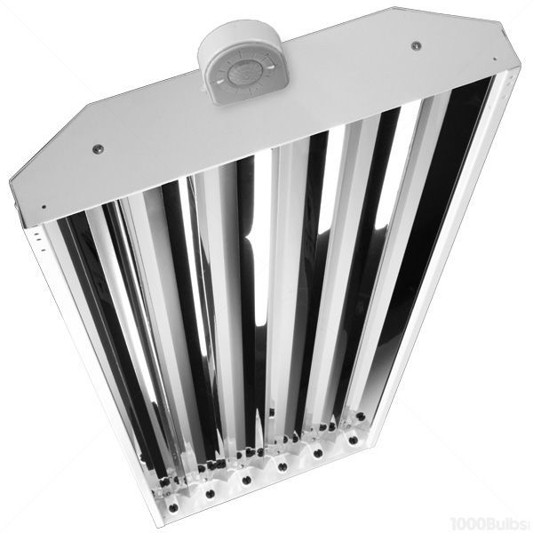 Fluorescent High Bay with Motion Sensor - 6 Lamp - F32T8 Image