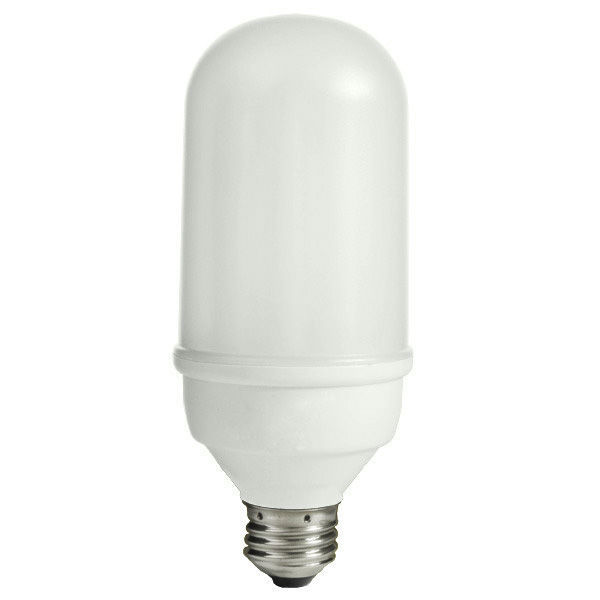Bullet Shape CFL - 14 Watt - 60W Equal - 3000K Halogen White Image