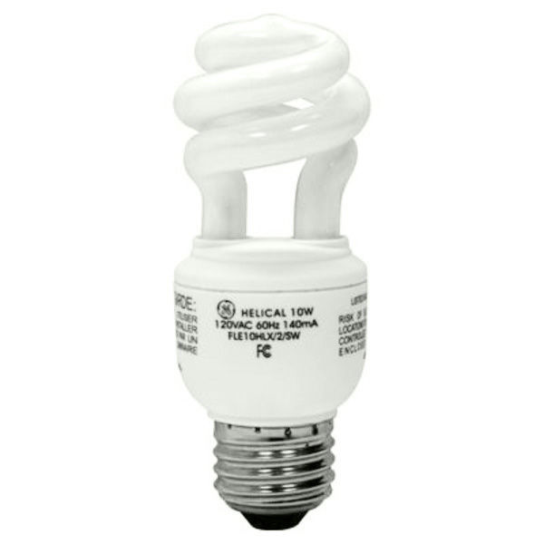 Spiral CFL - 10 Watt - 40W Equal - 2700K Warm White Image