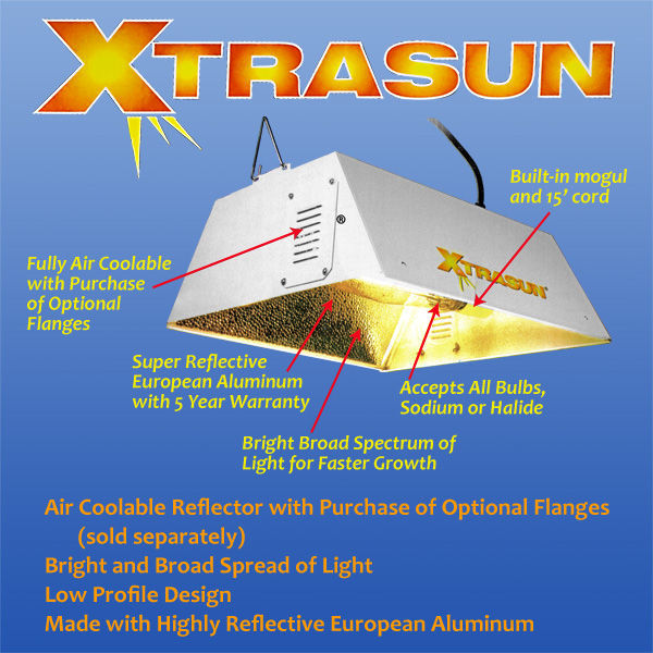 Xtrasun Reflector - 4 in. Flange Opening Image