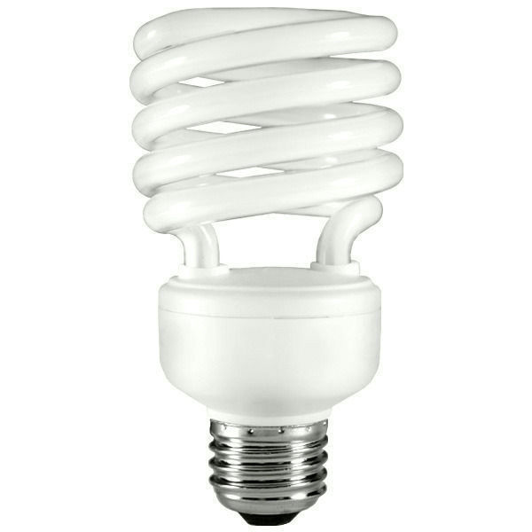 Spiral CFL - 26 Watt - 100W Equal - 2700K Warm White Image