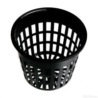 3 in. Plastic Net Cup - Round Plant Container - Hydrofarm HG3NETCUP
