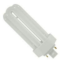 Ushio 3000254 - CF26TE/830 - 26 Watt - 4 Pin GX24q-3 Base - 3000K - CFL