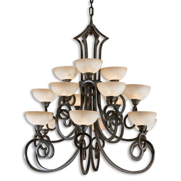 Uttermost 21082 - Scavo Glass Chandelier Image