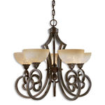 Uttermost 21083 - Scavo Glass Chandelier Image