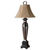 Uttermost 26257 - Hammered Strap Table Lamp
